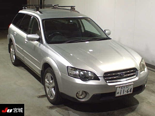 SUBARU OUTBACK 4WD 2.5i  с аукциона в Японии