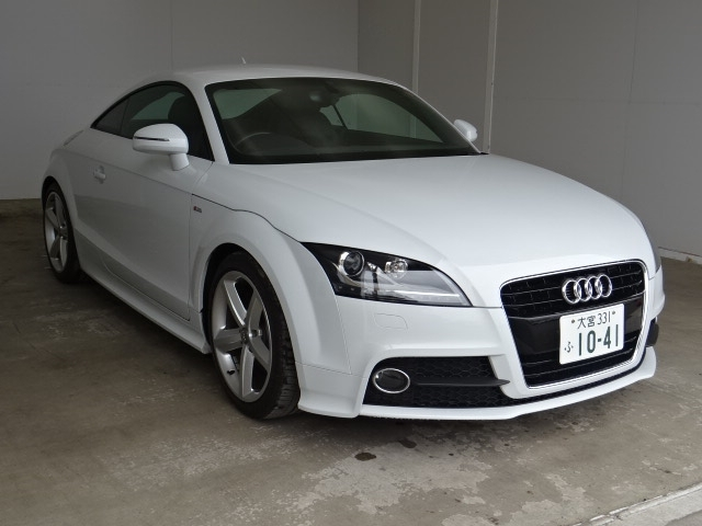 Buy used AUDI TT at Japanese auctions