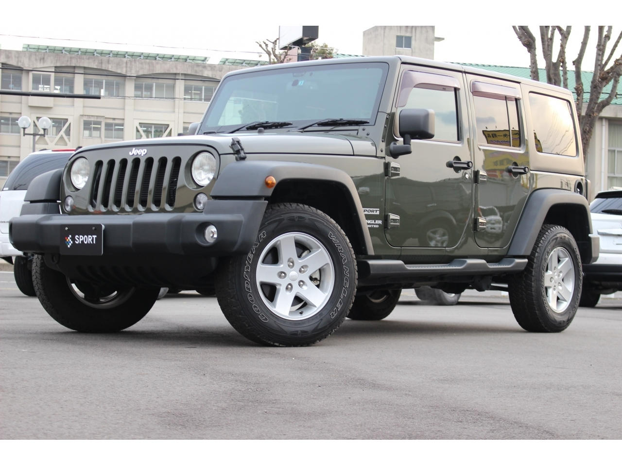 Buy used JEEP WRANGLER UNLIMITED at Japanese auctions